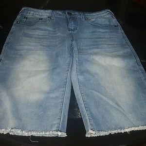 Boys True Religion denim shorts